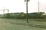 CSX 768 & 648 & 5832 at Selkirk yard